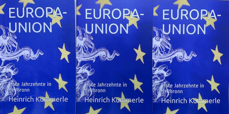 Drei EUROPA-UNION Bucheinbände